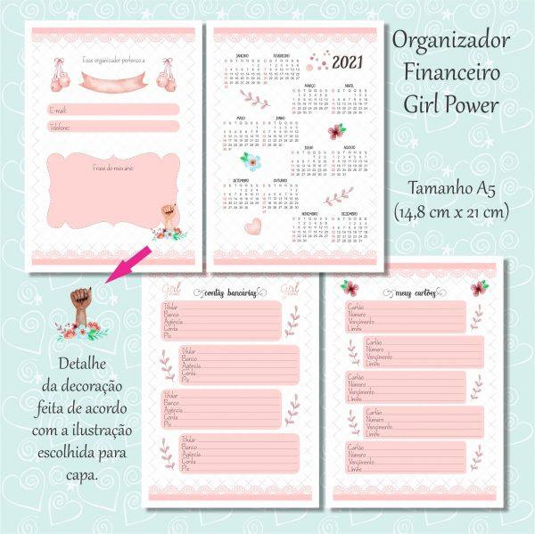 organizador rosa 1